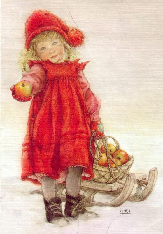 Little Apple Girl - Lisi Martin (Love her work!)