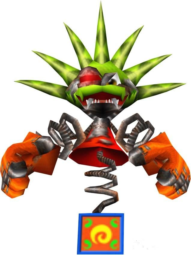 Let's be honest this was one of the scariest video game bosses.