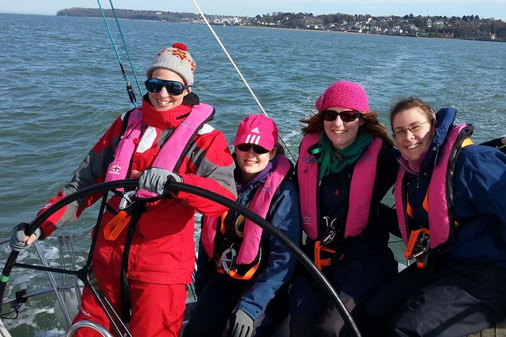 Girls for Sail entered the #sailing industry to teach #women to become good sailing partners.