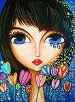 Мобильный LiveInternet Женские образы. Romi Lerda | dikulya67 - МОЙ МИР |