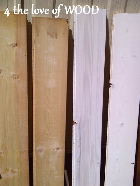 4 the love of wood: WHITE WASHED BOARDS - how to