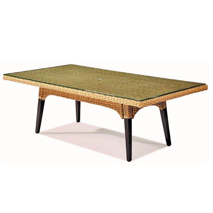 Houston - meble ogrodowe technorattan zestaw stołowy 6 osób - Twoja Siesta
