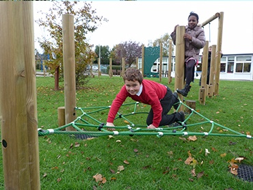 Timber trails are great option for schools and councils that want to keep a more natural look to their play areas.