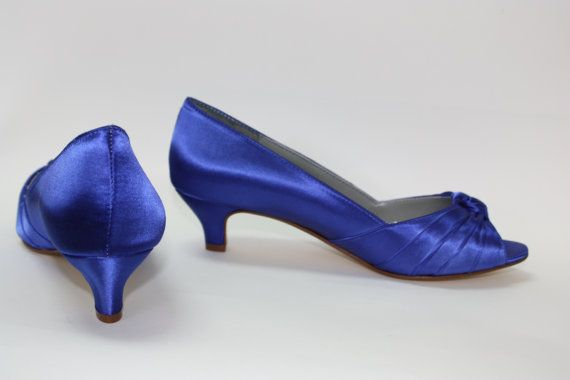 Royal Blue Wedding Shoes  Choose From Over 100 Colors  by Parisxox, $122.00