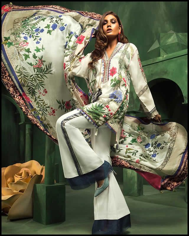 af4d8a4990 Elan Zaha Collection 2018 By Khaijah Shah New Arrival ÉLAN has created a  luxurious Pret-a-porter Line. ÉLAN lawn. The brand's wildly successful  seasonal ...