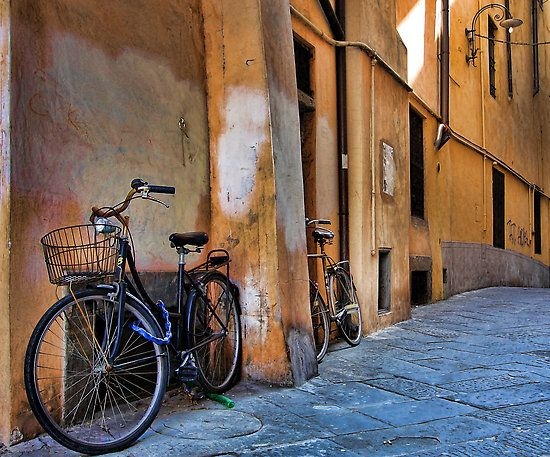 Lucca Italy street