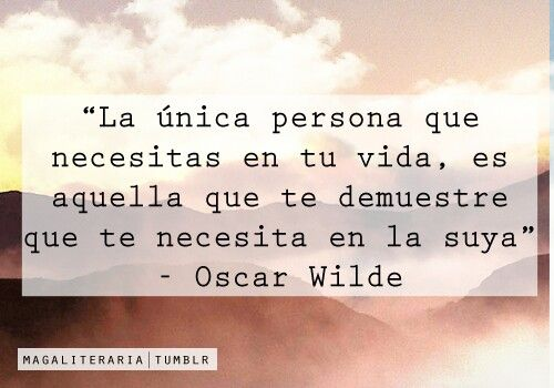 Verdad. #frase #español -Oscar Wilde | Love is losing game