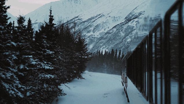 Traveling Around Alaska on a Train Is Totally Gorgeous