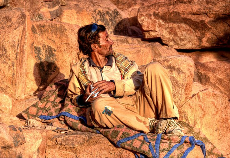 Spokojne życie Beduina....