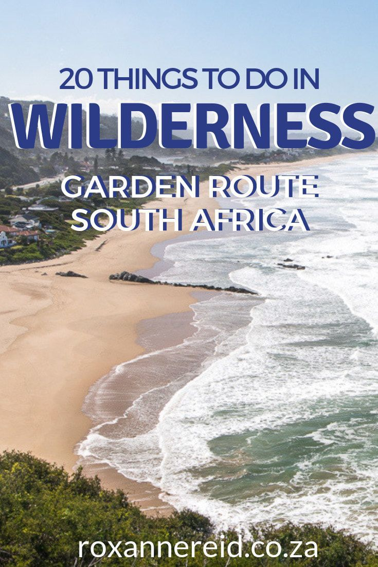 What to do in Wilderness on the Garden Route in South