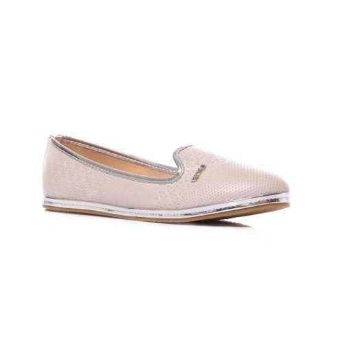New Women's Black Grey Pumps Ballerina Pumps Shoes Slip On