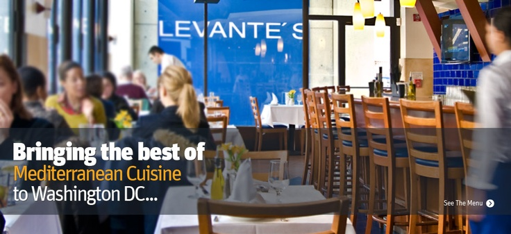 The Best of Mediterranean Cuisine - Levante's at Dupont