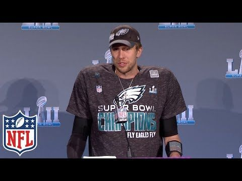 Super Bowl Mvp Nick Foles S Post Game Interview Is A Powerful Lesson In Leadership Inc Com Nfl Highlights Nfl Super Bowl