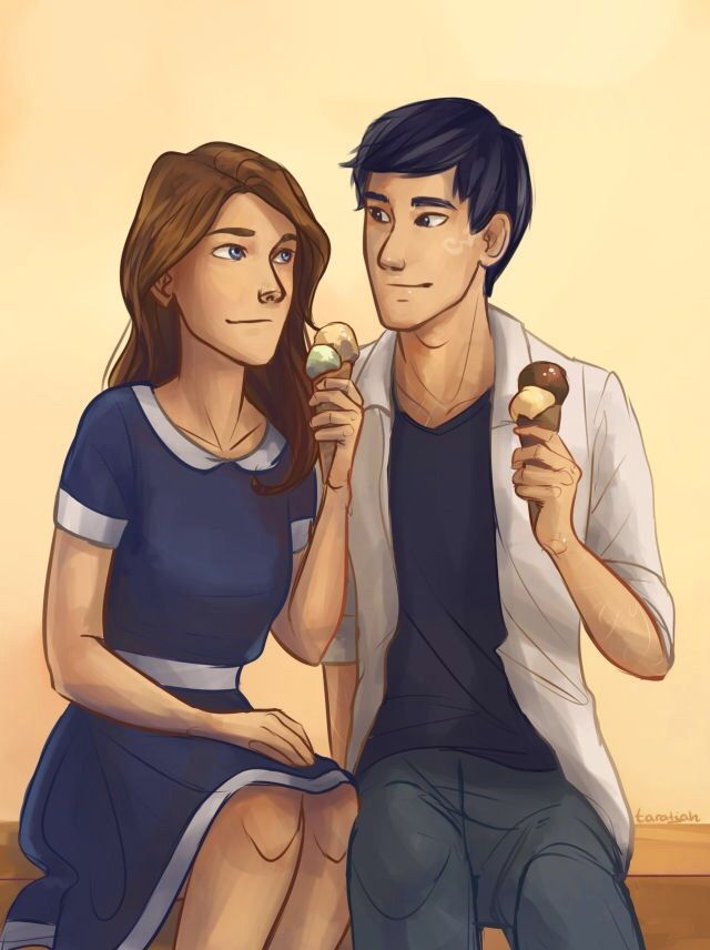Jem and Tessa in the present day. So cute