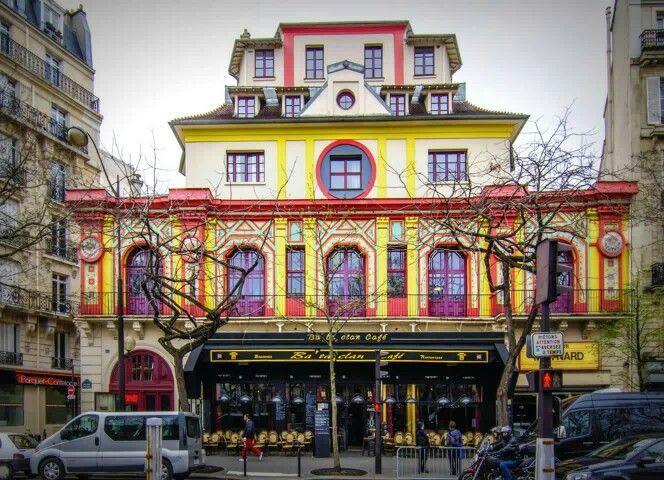 Paris - Le Bataclan - one of the scenes of the 11/13/15 attacks on Paris
