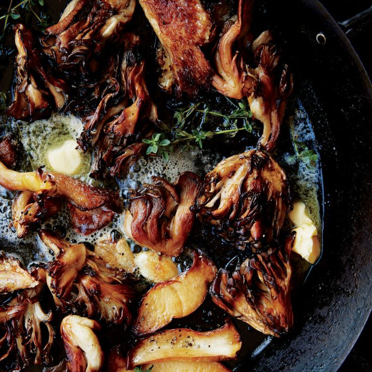 Our idea of magic mushrooms is crisp, golden (legal) substances with the power to lend a bass note of flavor to grain salads, turn a piece of ricotta toast into a meal, or stand alone as a savory side.