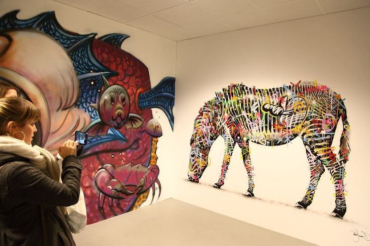 'The Dirty Art' featuring artists Martin Whatson and Martin Mauseth Hvattum.