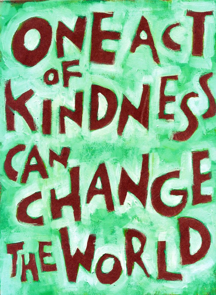 One act of Kindness can CHANGE the world Positive sayings, posters and wall decor for home office and schools. Who do you know that needs to be motivated, appreciated or uplifted? Colorful Motivationa