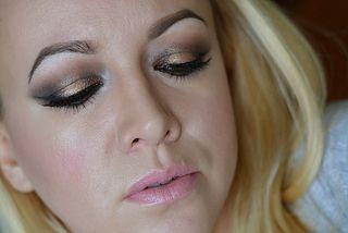MAKEUP Rose Golden Zoeva Palette | makijaż wieczorowy