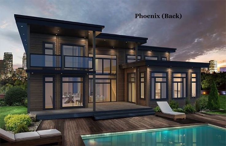 How about the windows in this Contemporary home? Wow! This is our Phoenix model. It's 3381 square feet, and has 4 bedrooms (all with walk-in closets),4.5 baths and tons of options. See the floor plan at www.timberblock.com