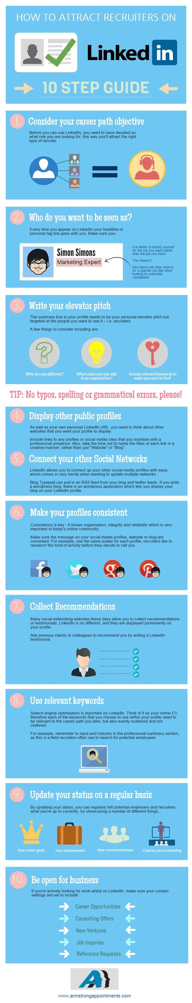 CareerEnlightenment.com: LinkedIn Profile Optimization [Infographic] - Take a look at this visual and gain valuable ways to enhance your LinkedIn profile and stand out from your competitors today.