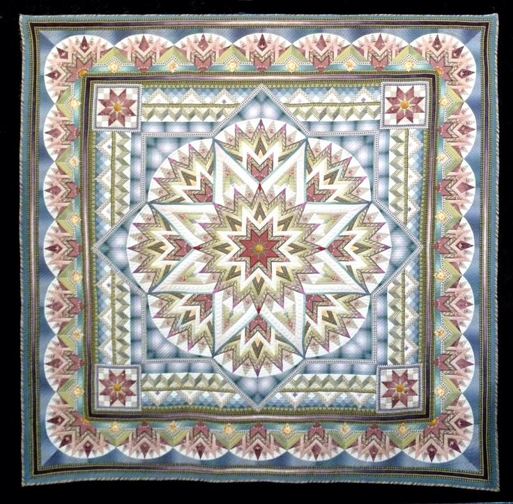 111 Best Medallion Style Quilts Images On Pinterest