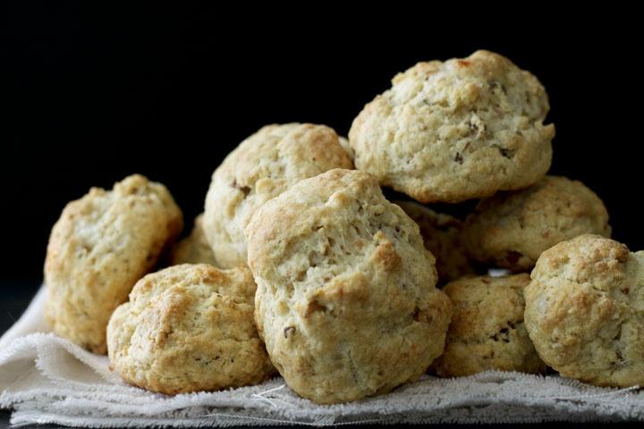 Goat Cheese Hazelnut Biscuits/Scones | Cookies, Brownies, Biscuits, S ...