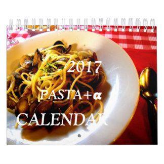 日本にある色々なイタリアンでパスタをメインに撮影☆パスタ+α。日本向けカレンダー☆ カレンダー