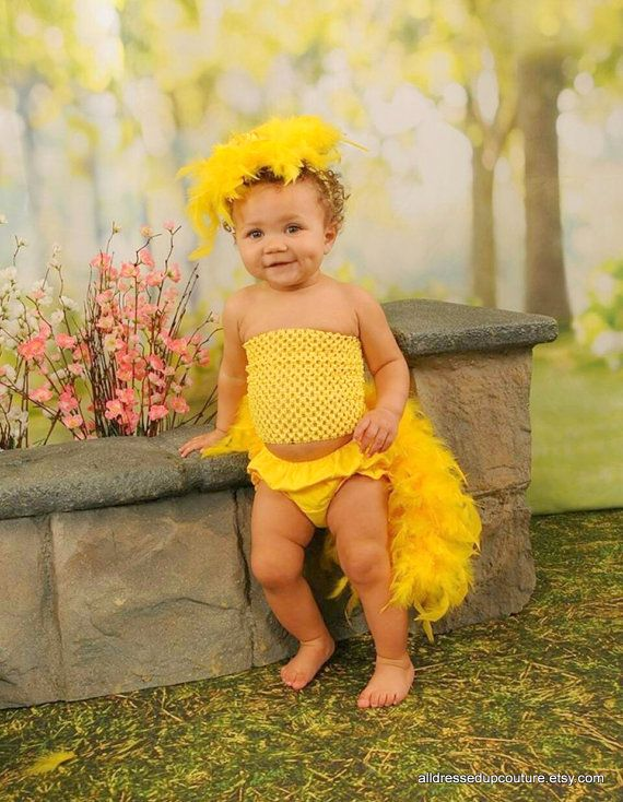 feather bloomers diaper cover headband set new baby duck photo prop fits baby 12 months first baby photo baby bloomers - Diaper Costume Halloween