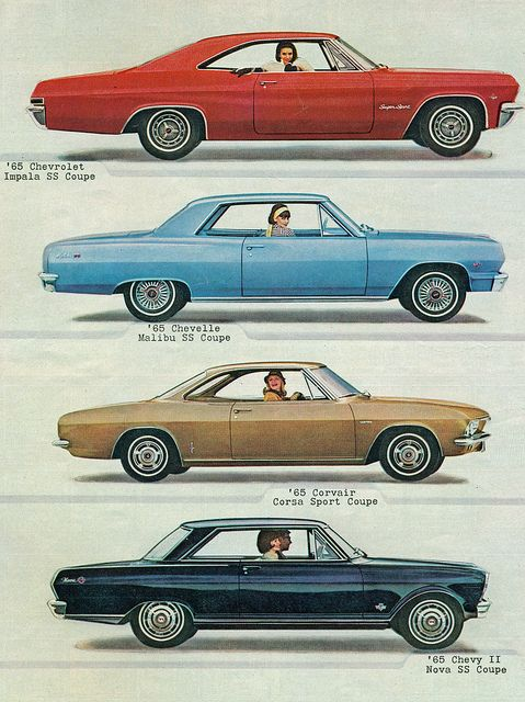 1965 Chevrolet Impala SS Chevelle Malibu SS Corvair Corsa and Nova SS | Flickr - Photo Sharing!