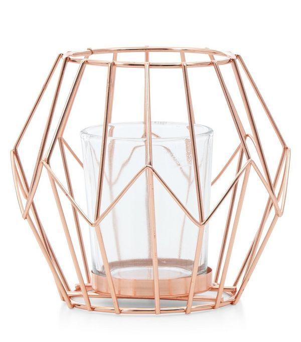 Rose Gold Lantern | New Look
