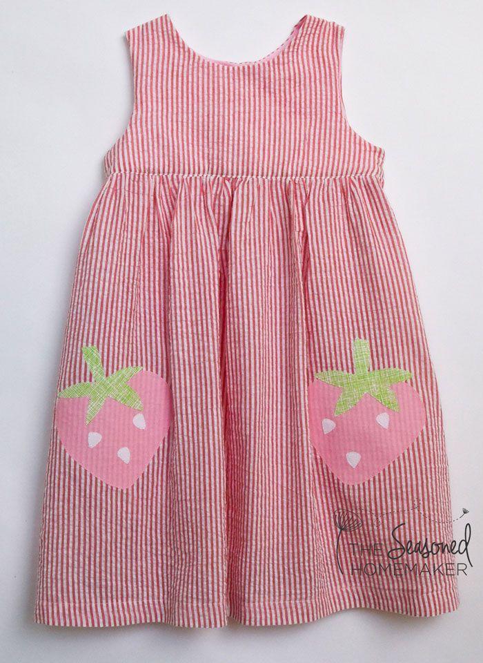 Strawberry Sundress by the Seasoned Homemaker