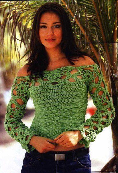 Farb-und Stilberatung mit www.farben-reich.com - Crochet: Pullover