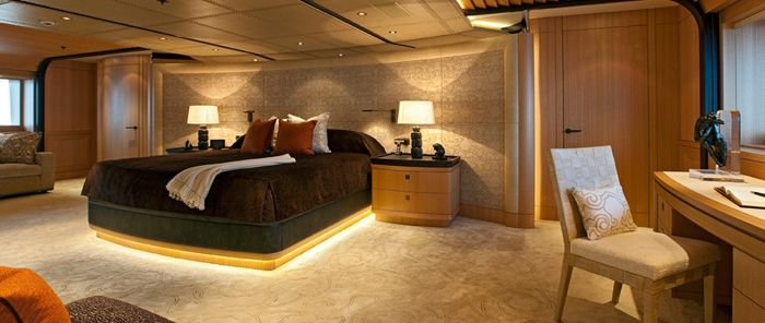 Motor Yacht Imagine: a luxury yacht Interior design by Andrew Winch
