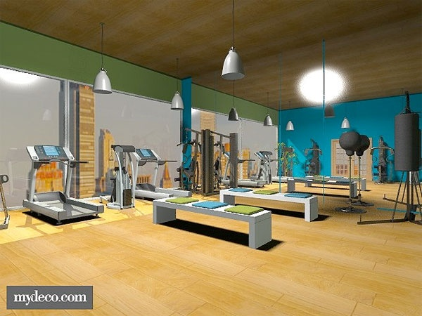 Best exercise room images on pinterest rooms