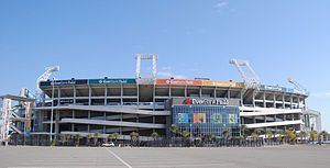 Jacksonville Jaguars - EverBank Field - Capacity: 76,867 - 1995 to Present - (Stadium Formerly Named Jacksonville Municipal Stadium 1995–1996, 2007–2009 & ALLTEL Stadium 1997–2006)