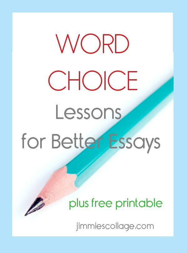 word choice essay In this video, we will discuss how word choice sets the tone for your essay this includes letting the reader know if you are angry, happy or even.
