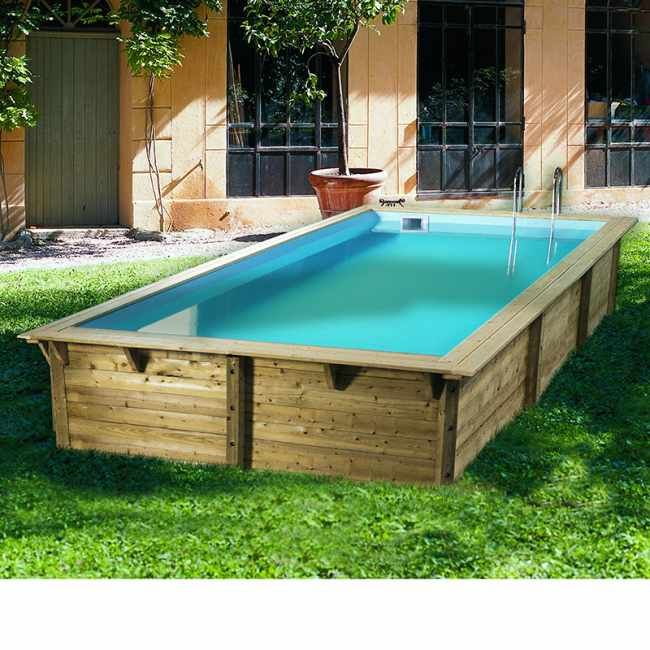 1000 id es propos de piscine bois sur pinterest for Piscine bois cordoue