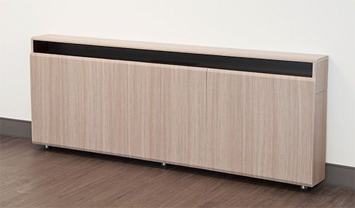 CR3-WM Triple Rack Wall Mounted Credenza