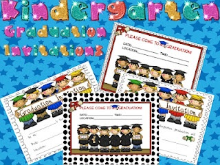 End of Year Celebration Invites: Celebration Invites, Classroom Freebies, Kindergartens, Kindergarten Graduation, Graduation Ideas, Graduation Invitations, Children Graduation, Classroom Ideas
