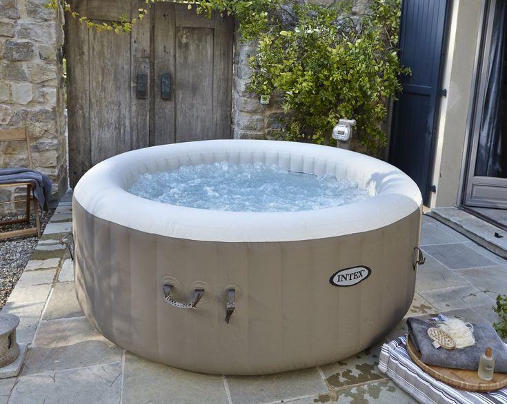 25 melhores ideias sobre spa gonflable no pinterest spa jacuzzi gonflable - Spa exterieur leroy merlin ...