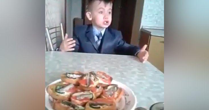 Ребенок высказал все, что накипело за 3 месяца первого года в школе.