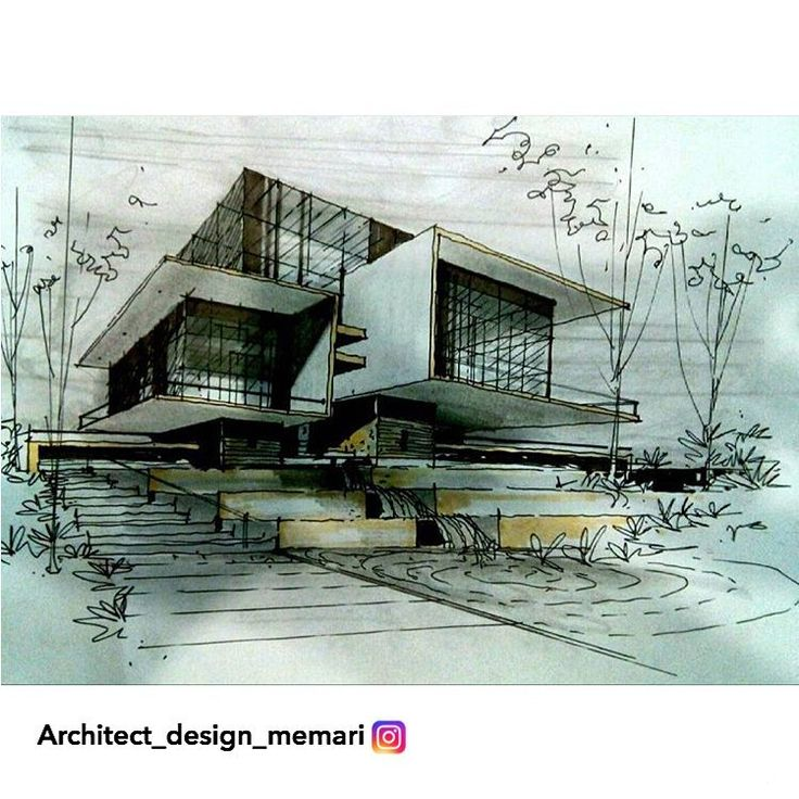 Consulta esta foto de Instagram de @architect_design_memari  419 Me gusta.  Architect DrawingArchitect DesignSketch ...