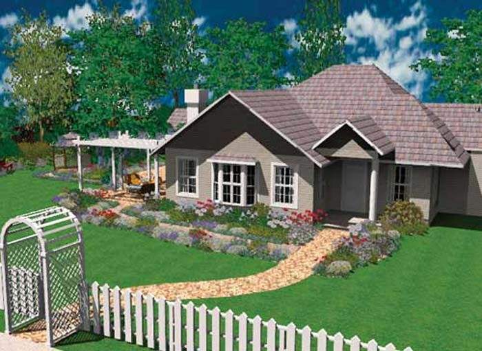 3d home design deluxe landscape homes by design pinterest for Style house pro