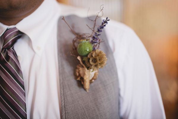 A Homegrown, DIY, Country Wedding: Kelsey