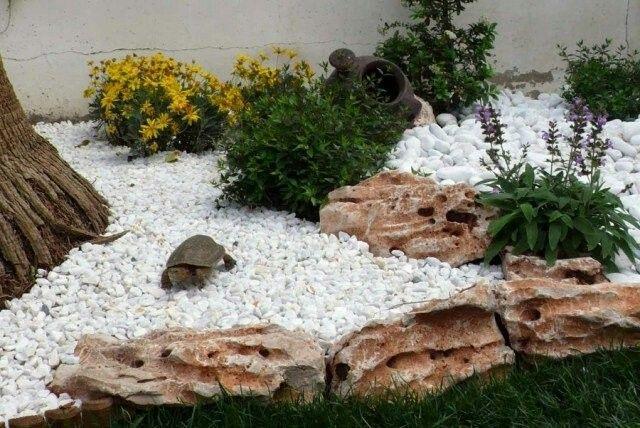 Steingarten Design, Gartendesign Ideen, Landschaftsfelsen, Asiatischer Style,  Landeskunst, Veranda, Japanische Gärten, Moderner Garten, Steingarten