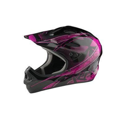 Kali Protectives US Savara Masquerade Helmet, X-Large, Black/Magenta *** Click image for more details.