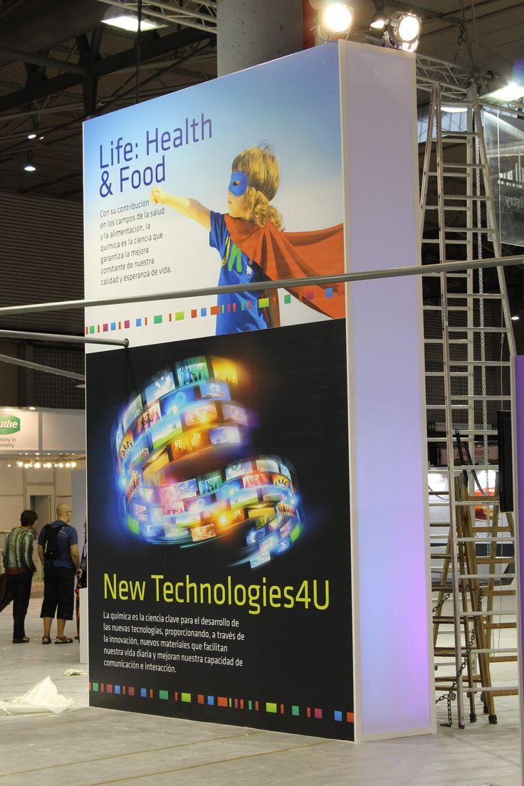 Imagen de la zona expositiva dedicada a Life y Newtechs4U