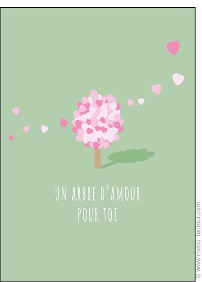 Souhaitez une joyeuse St Valentin avec une jolie carte ❤️  http://www.merci-facteur.com/cartes/rub19-amour-et-saint-valentin.html #carte #amour #StValentin #Love #fleurs #Jetaime #lundi #coeur #jetaime #iloveyou #valentinsday #flowers #amor #SanValentin Carte Un arbre d'amour pour toi pour envoyer par La Poste, sur Merci-Facteur !