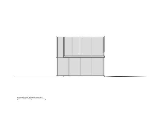 H3 House,Elevation